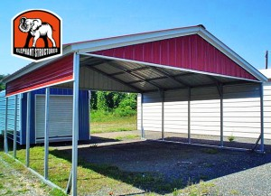Metal Carports for Businesses by Elephant Structures