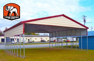 Metal Carport by Elephant Metal Shelters