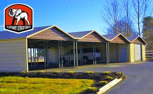 Commercial Carports by Elephant Structures