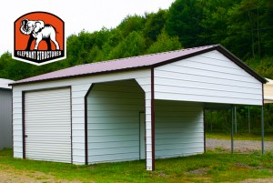 Carports by Elephant Metal Shelters are Versatile