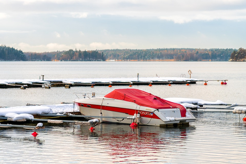 Learn how one of our metal shelters can protect your boat from the harsh winter.